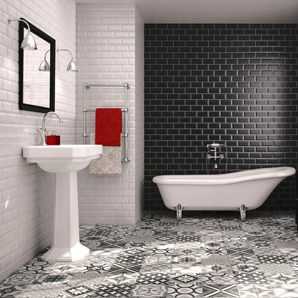 Bathroom Tiles Red top bathroom decor trends 2016 | bathroom trends, walls and