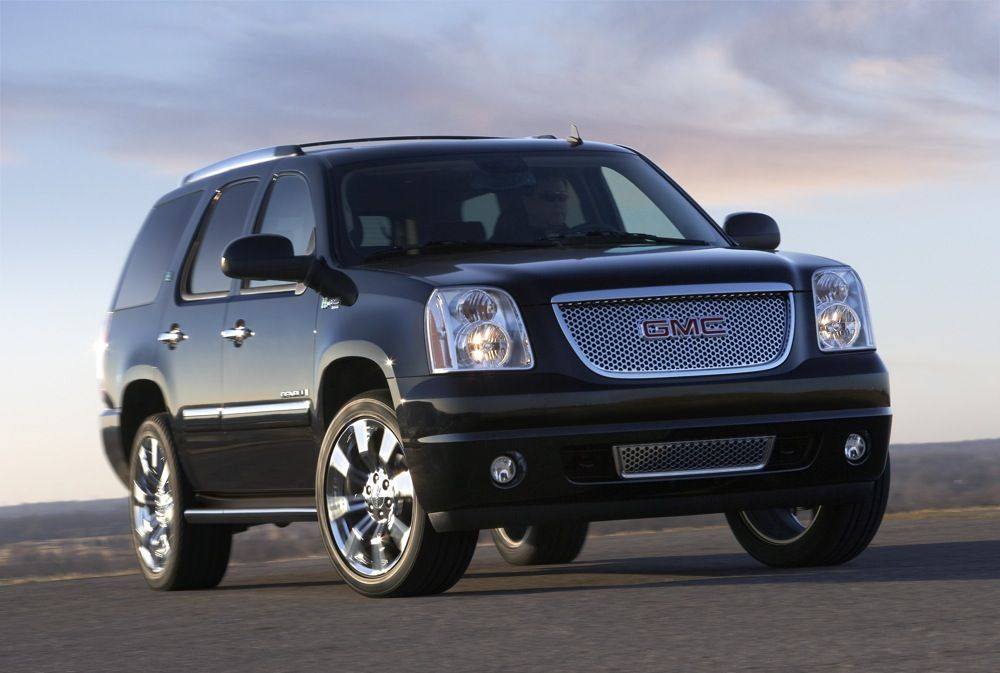 GM's most advanced hybrid technology drives the GMC Yukon Denali Hybrid's superior fuel economy, performance and load-carrying capability. Description from automobilesreview.com. I searched for this on bing.com/images