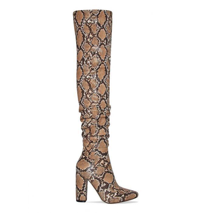fb38c670bd55 Women s snake skin thigh high boots  thighhighboots  thighhighs  snakeskin   womensfashion  womensoutfits