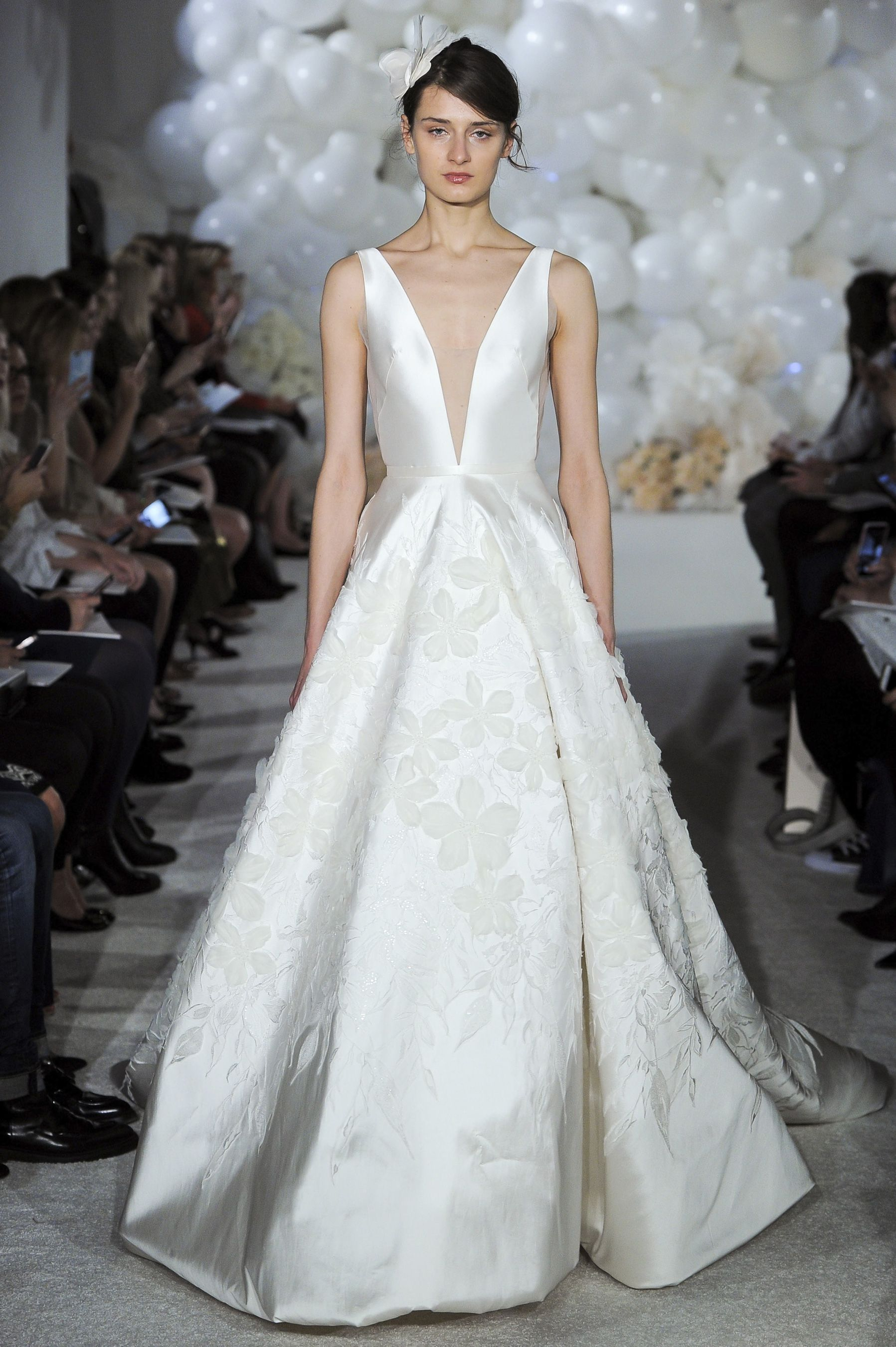 Mira zwillinger spring bridal fashion show nyfw new york