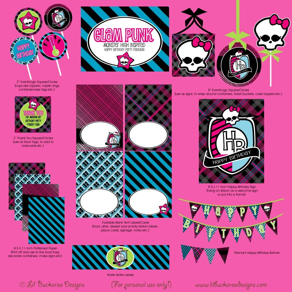 Monster High Party Pack!