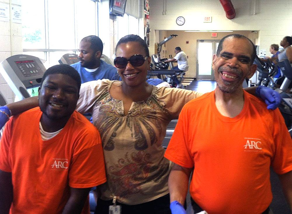 Enjoying an afternoon at the northside richmond ymca