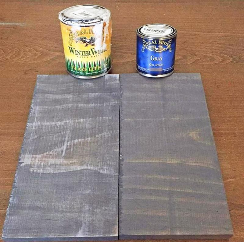 Weathered Gray Gel Stain