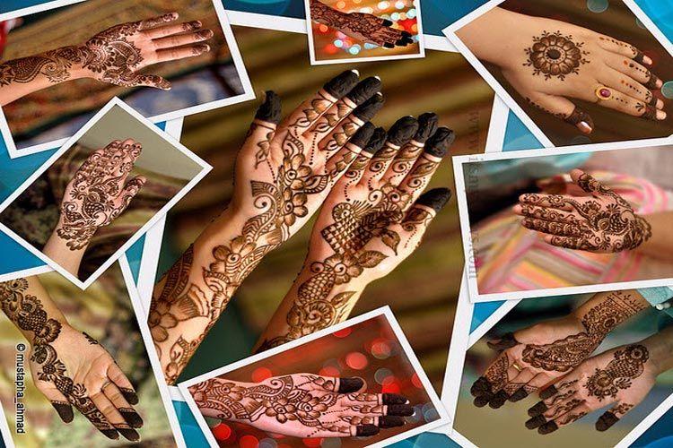 Mehndi Designs Churidar : New arabic mehndi designs hd pics dulhan hands catalog