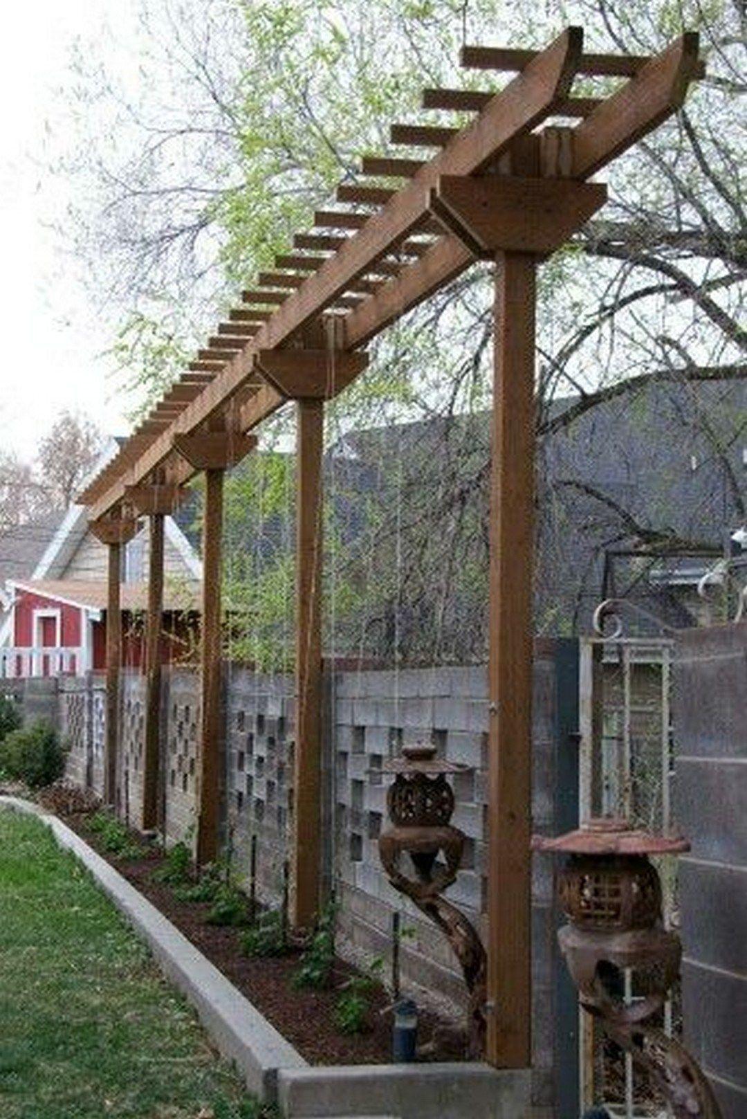 Backyard Trellis Ideas diy backyard pergola trellis ideas to enhance the outdoor life (12