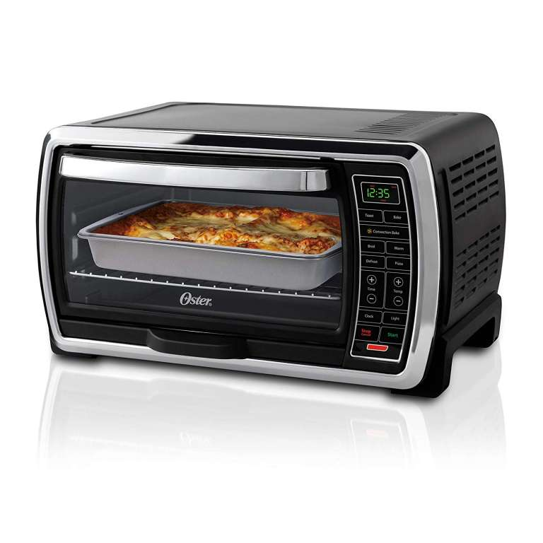 1 Oster Toaster Oven Large 6 Slice Capacity Digital Convection
