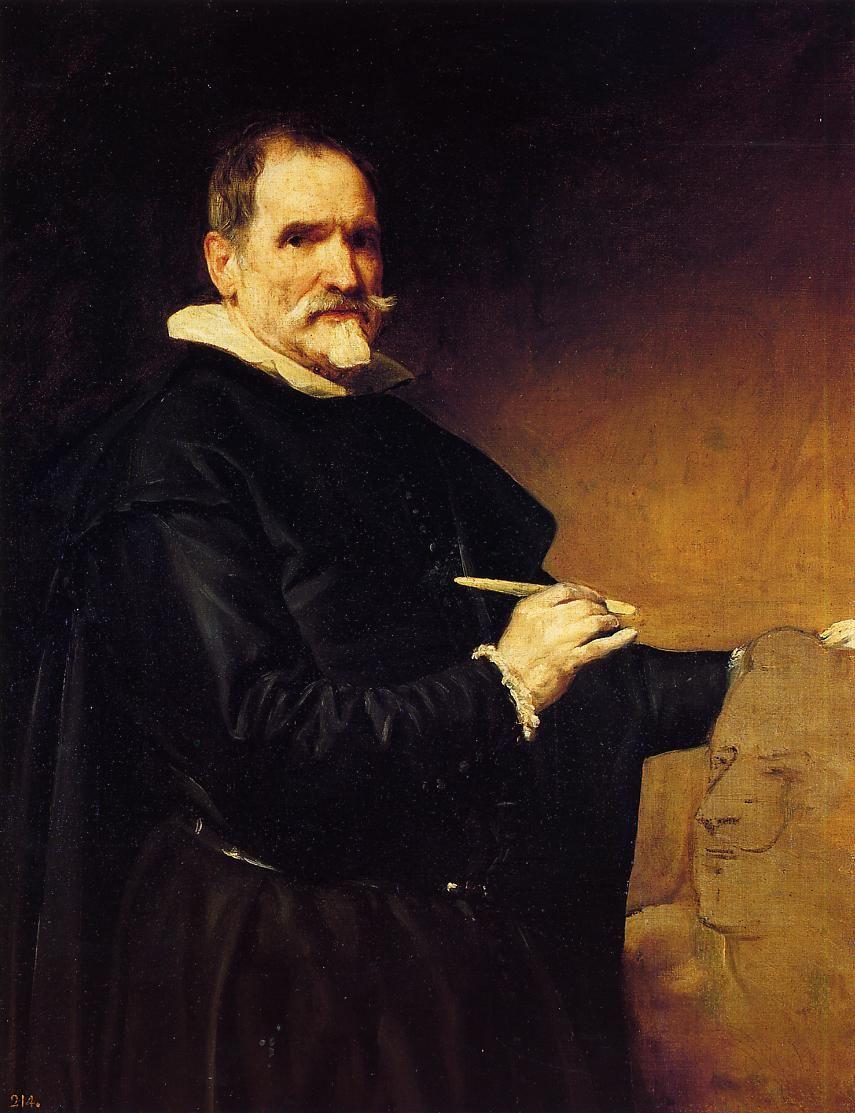 Diego Rodriguez De Silva Velazquez The Sculptor Martínez Montañés Diego Velázquez Diego Rodríguez De Silva Y Velázquez Spanish Painters