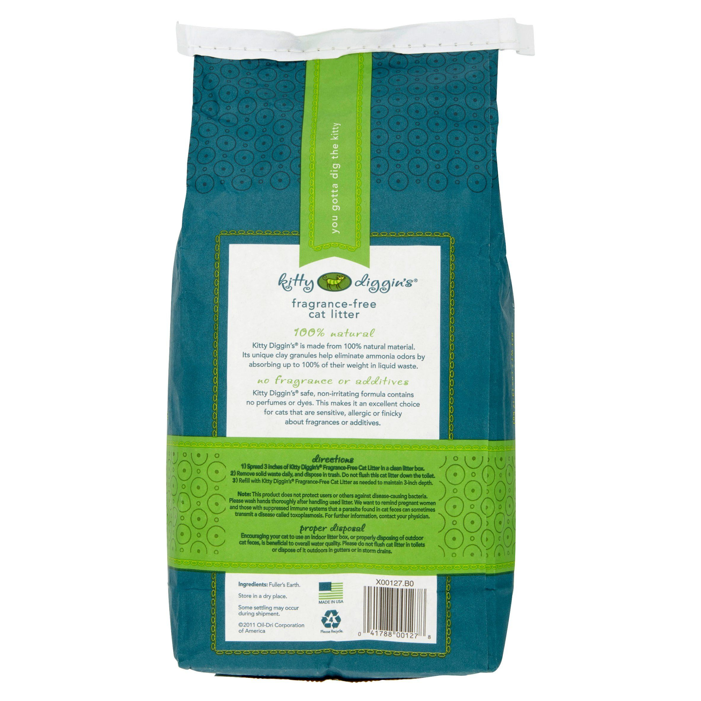 Kitty Diggins FragranceFree Cat Litter 7 Lbs >>> Visit the
