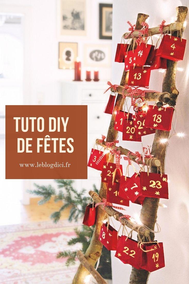 Si vous avez un petit côté « récup' et bout de ficelle », cetuto DIYest pour vous.En quelques gestes simples, fabriquez votre calendrier de l'Avent. Il décorera joliment la maison et rendra l'attente de Noël plus douce. Cette année, c'est décidé, le calendrier de l'Avent sera fait maison. Parce que l'Avent, ce n'est pas que pour les petits.Joyeux préparatifs et très bonnes fêtes à tous ! - Magazine Esprit d'Ici #calendrierdelaventfaitmaison