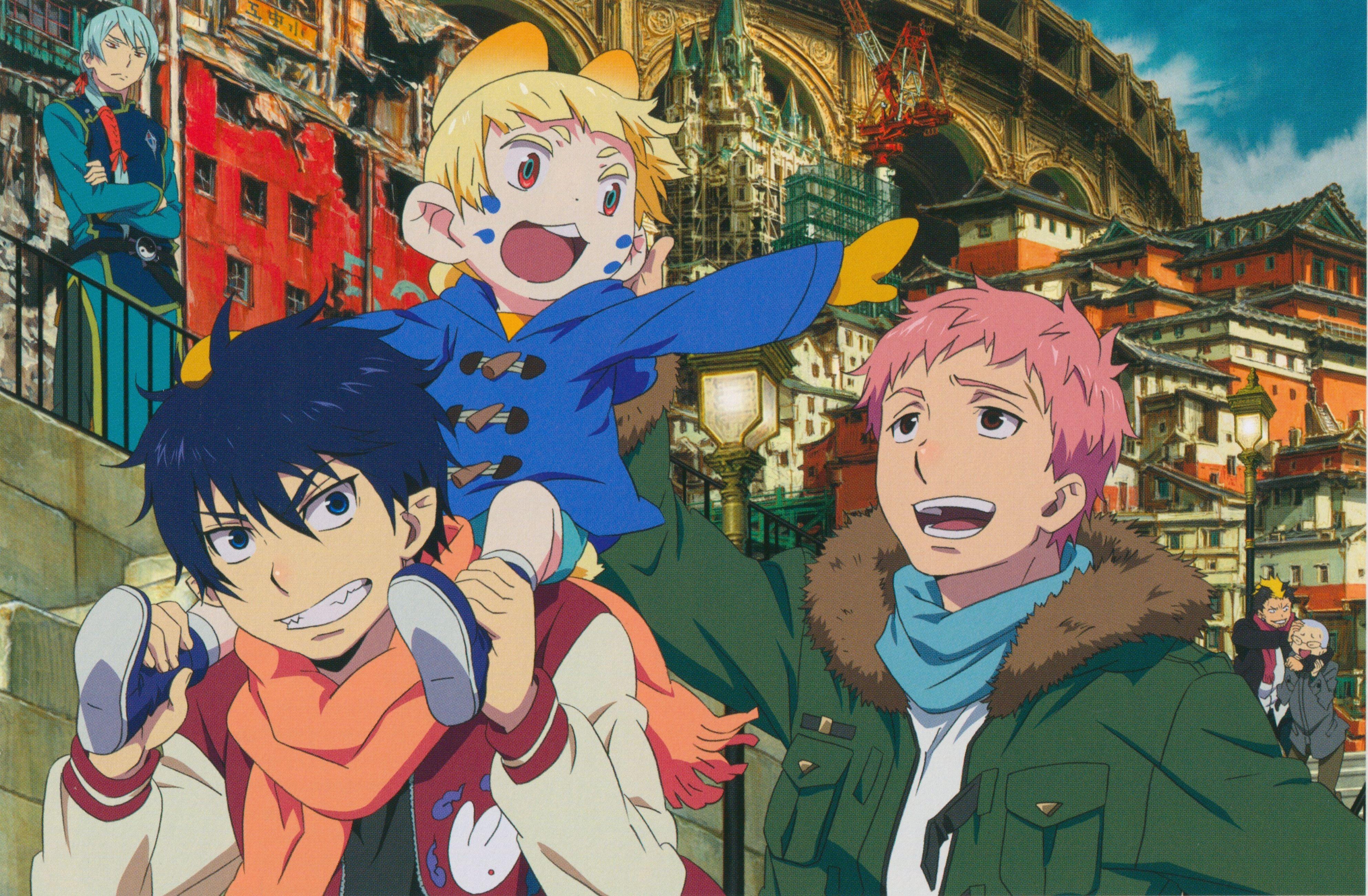 Rin, Usamoro, Shima Ao no Exorcist Blue exorcist