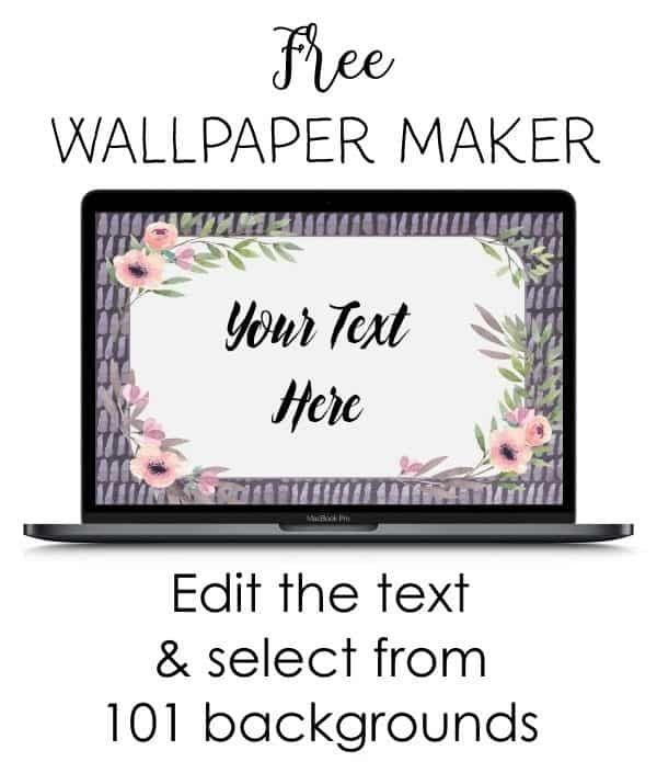 Free Planner Printables (With images) Wallpaper maker