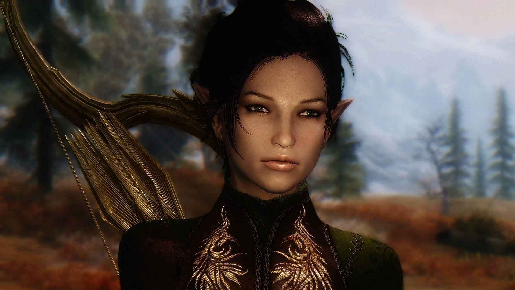 Elven Follower Aranya at Skyrim Nexus - mods and community