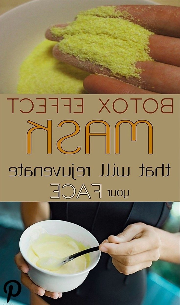 Botox effect mask that will rejuvenate your face  Botox effect mask that will rejuvenate your face