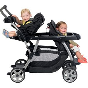 c111ea9ec Graco - Ready2Grow LX Stand and Ride Double Stroller, Metropolis