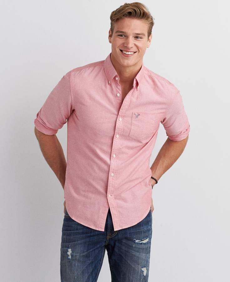 e7fba5b5158c AE Ahh-Mazingly Soft Boyfriend Button Up Shirt | *Clothing* | Mens ...