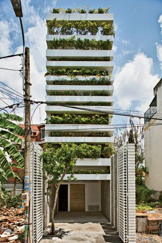 Vo Trong Nghia Architects  Ho Chi Minh City