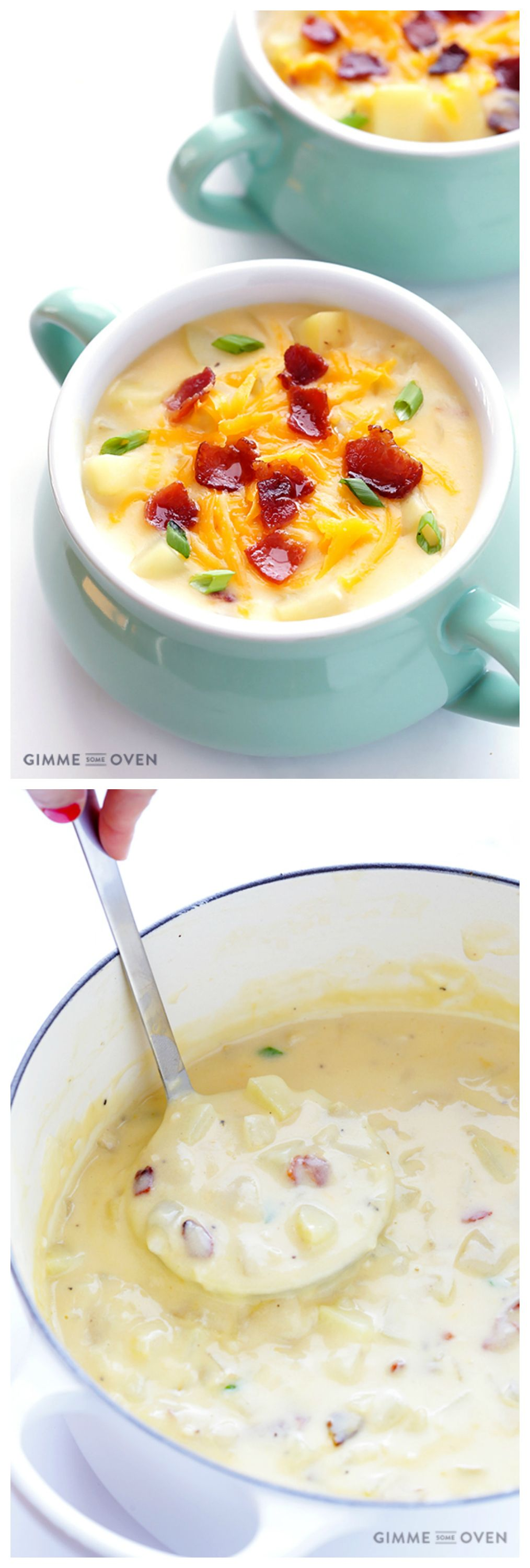 The Best Potato Soup Gimme Some Oven Recipe Recipes Food Cooking Recipes