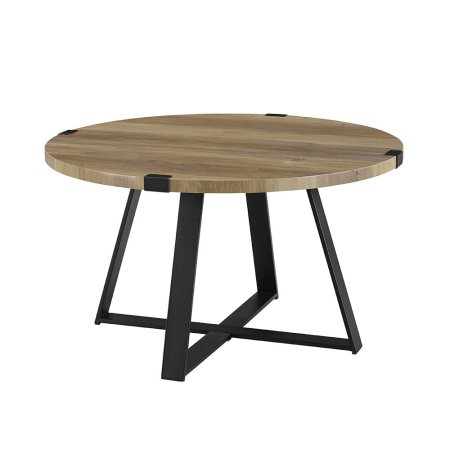 Home Round Coffee Table Rustic Coffee Table Grey Round Coffee