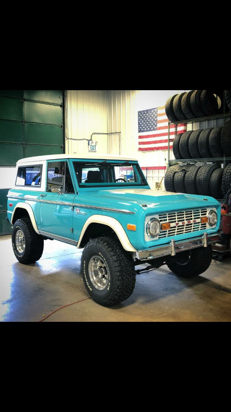 Pin By Mitchell Gonzales On Early Ford Bronco Ford Bronco
