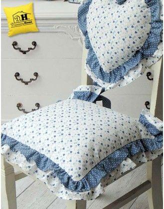 Cuscini sedia e schienale - Dressing Home | Poduszki | Pinterest ...
