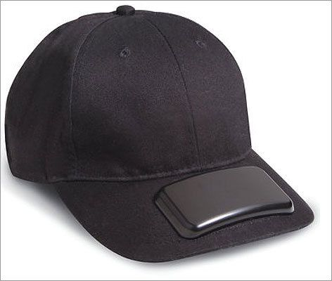 Music lovers gifts: MP3 cap  Price: $29.95