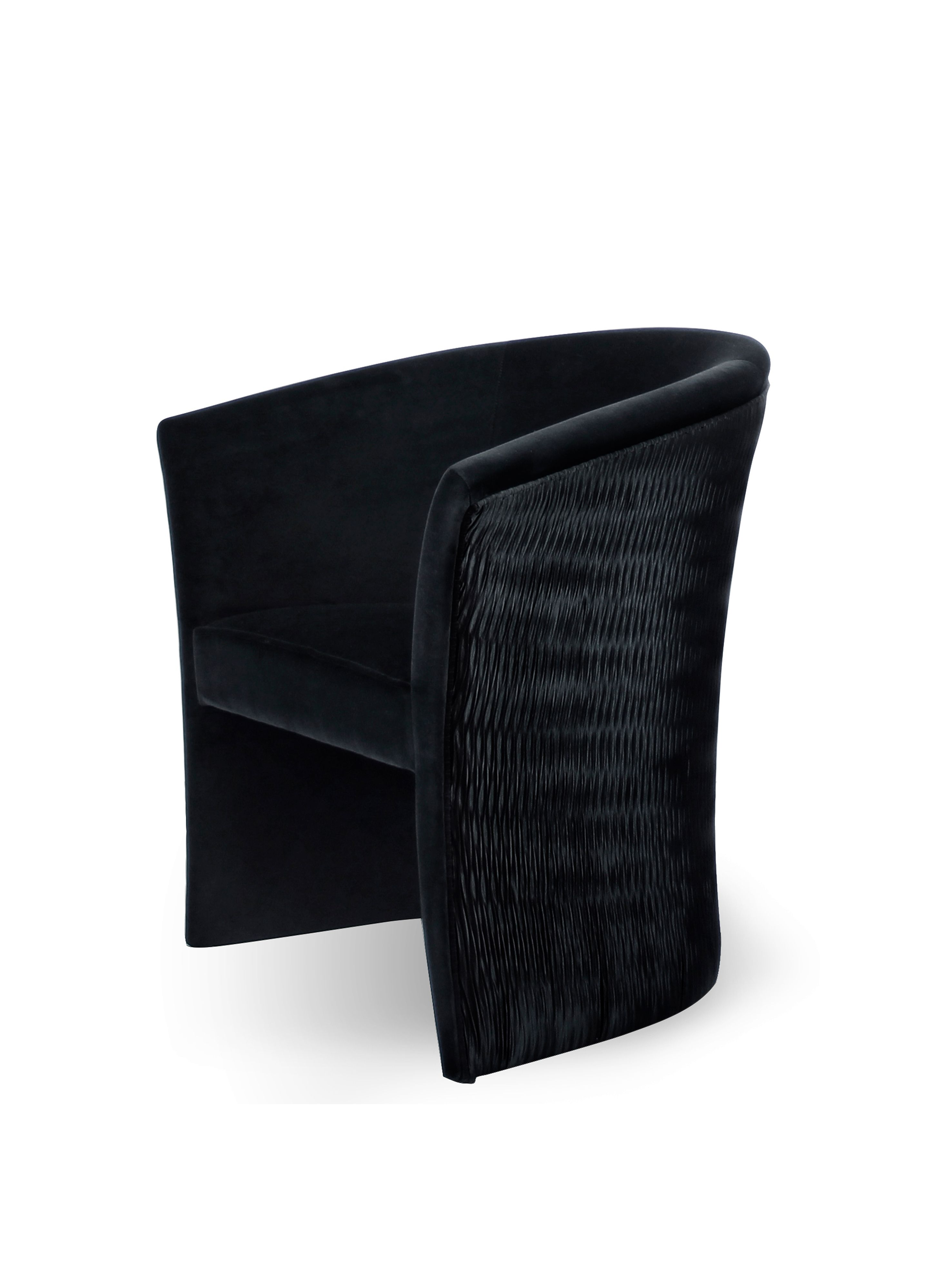 Enigma Chair by KOKET | http://www.bykoket.com/guilty-pleasures/upholstery/enigma-chair.php