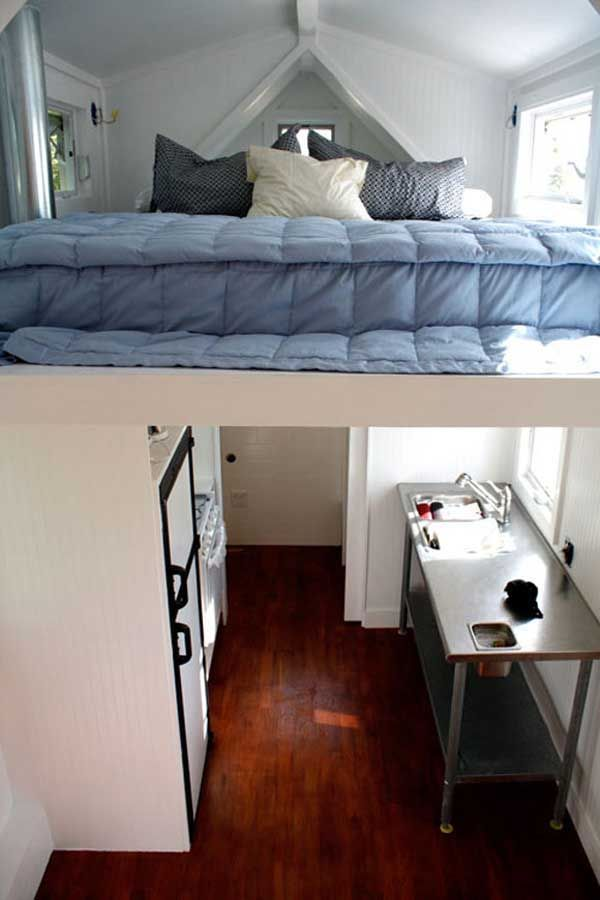 Tiny Houses | Modern Mobile House Small Bedroom Kitchen Design On Home  Bedroom .