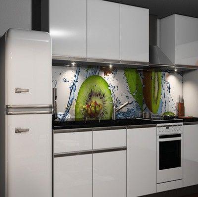 Selbstklebende Küchenrückwand Folie Möbel  Wohnen Kuechenrueckwand
