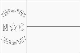 North Carolina Flag Flag Of North Carolina State North