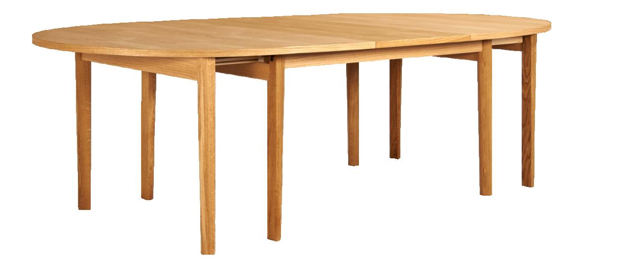 Ega - Mesa grande de comedor con extensiones - Habitat | muebles ...