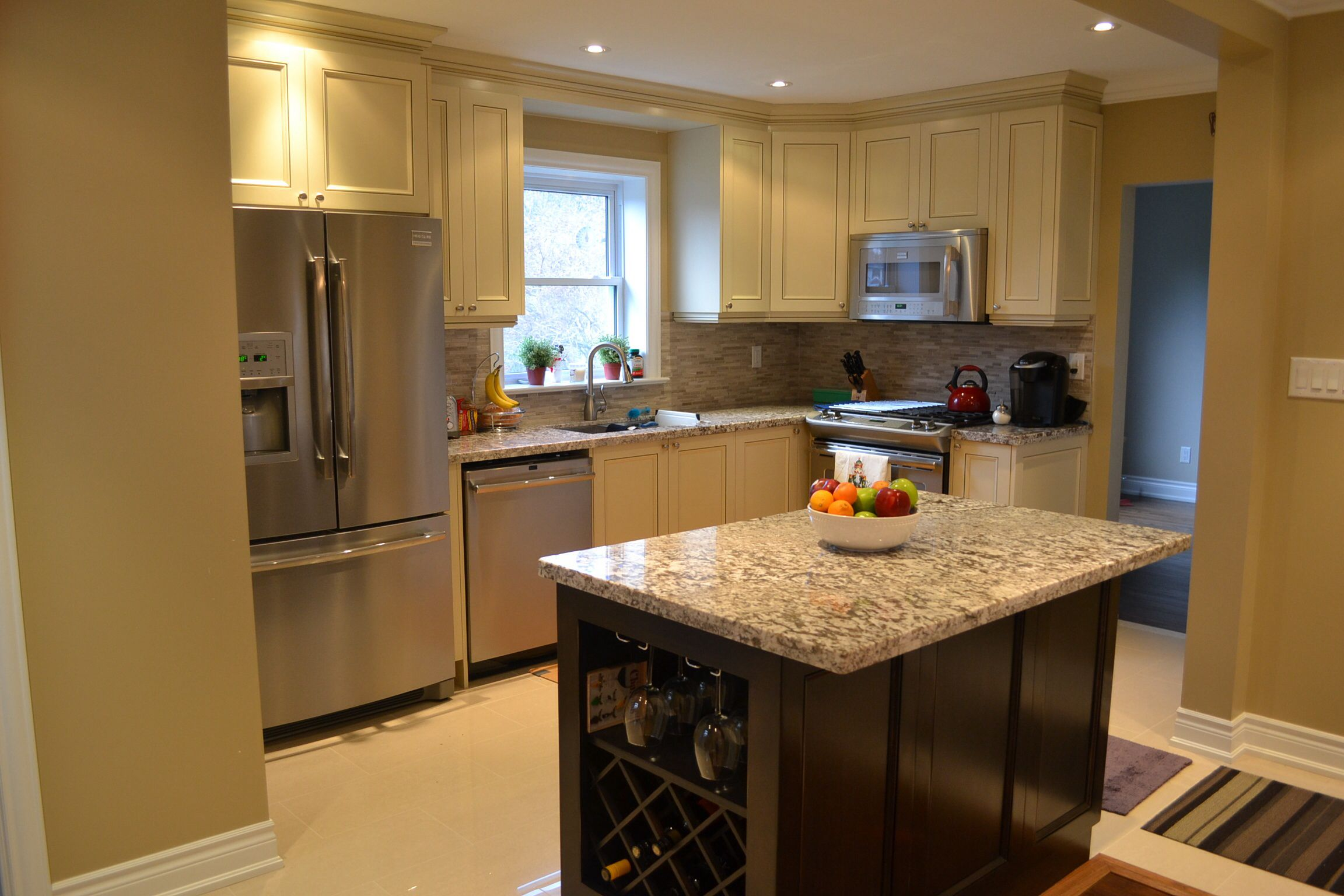 Custom Kitchen With Low Voc Waterborne Lacquer And Stain Custom Kitchen Kitchen Home Decor