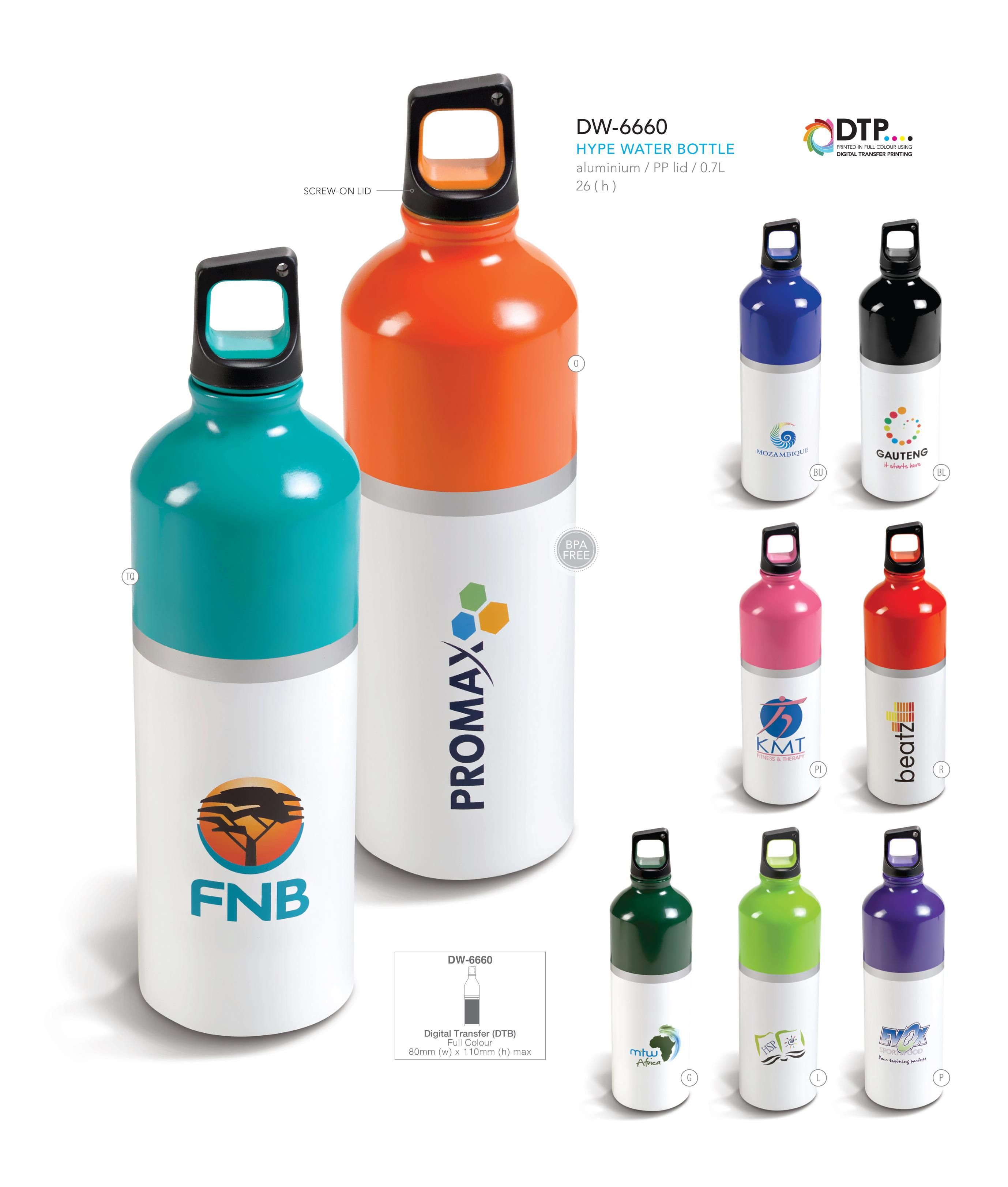 Hype Water Bottle Let us source and imprint that perfect