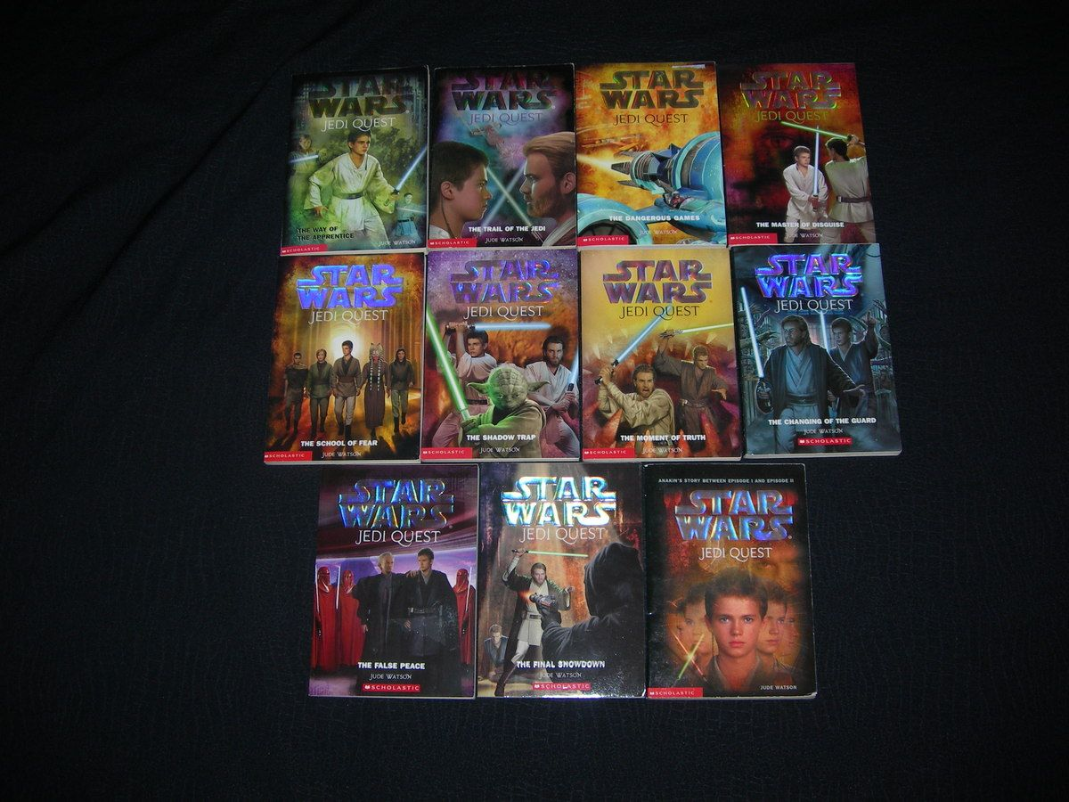 star wars jedi quest book series are some of the best ever!!! :)