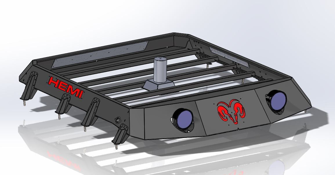 Dodge Ram roof rack