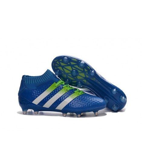 Adidas ACE 16.1 Primeknit FG PEVNÝ POVRCH kopačky modrý