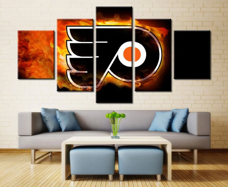 Philadelphia Flyers 1 Hockey Canvas Wall Art Print Painting Home Decor Hurry Order It Now And Make Y In 2020 Wall Art Canvas Painting Canvas Wall Art Wall Art Prints