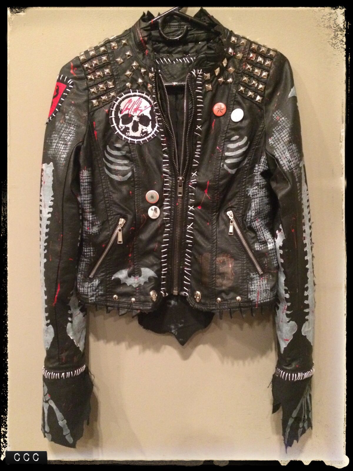 Rock leather jackets