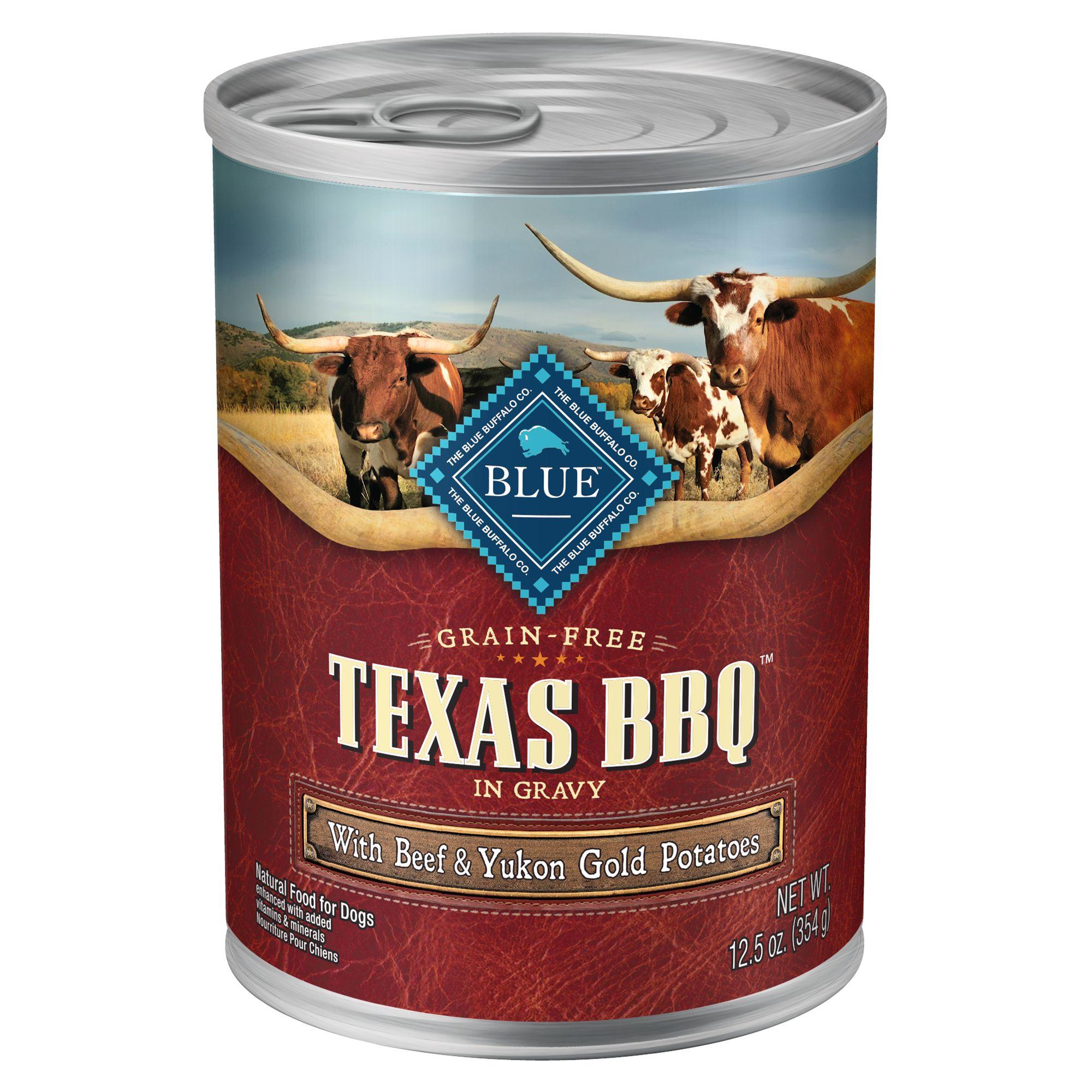 Blue Texas BBQ Dog Food Natural, Grain Free, Beef