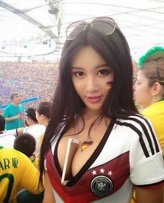 Las Porristas Mas Sexys Aficionadas Del Mundial Chicas Al