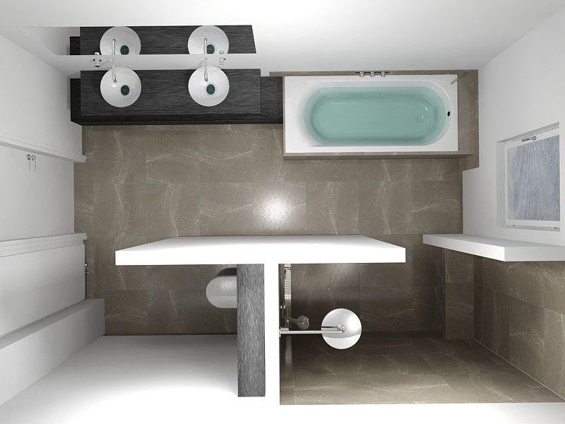Een tijdloze badkamer ontstaat door te kiezen voor een neutrale ...