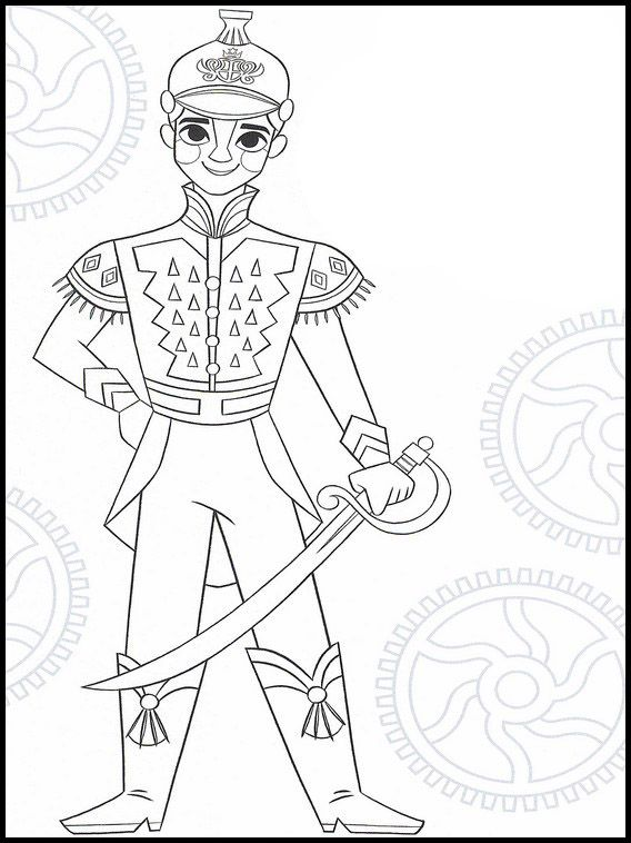 the nutcracker and the four realms 5 printable coloring