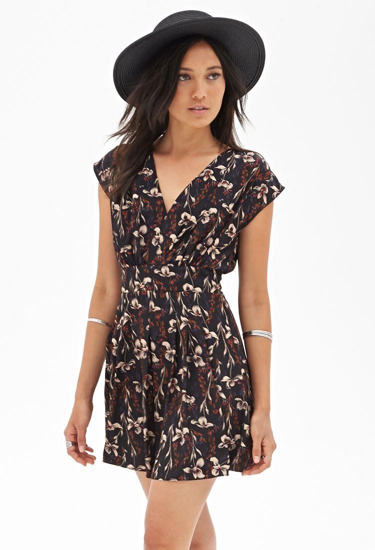 lily print dress | kleidung, Ästhetische kleidung, kleidung