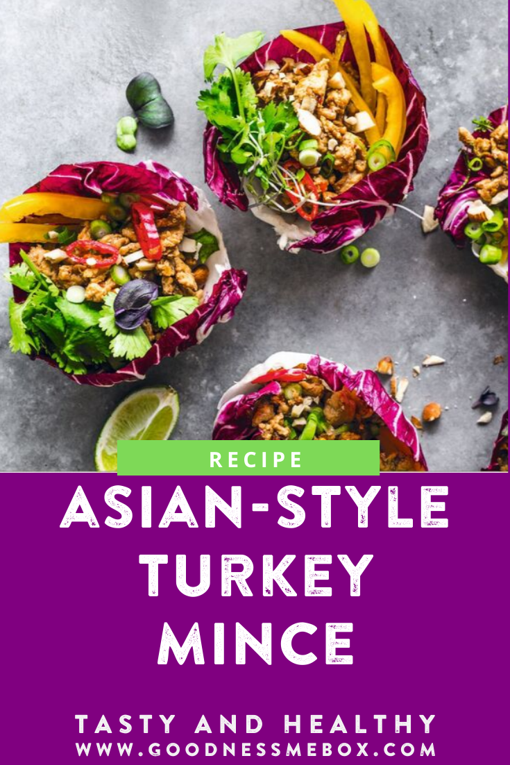Asian-style Turkey Mince (With images)   Turkey mince ...