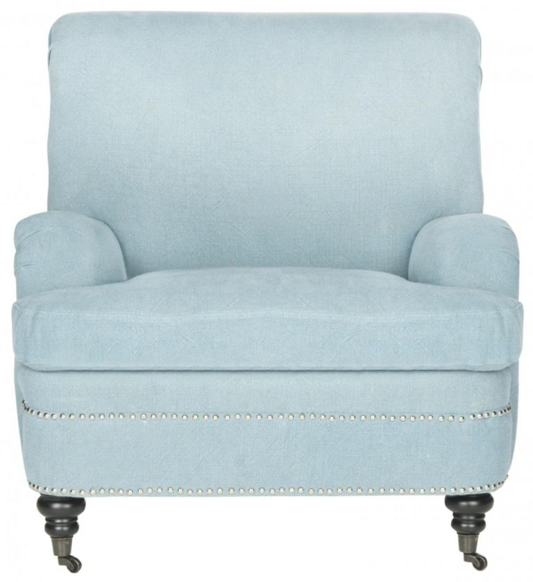 Accent Chairs Furniture Safavieh Intended For Luxury Light Blue Accent Chair