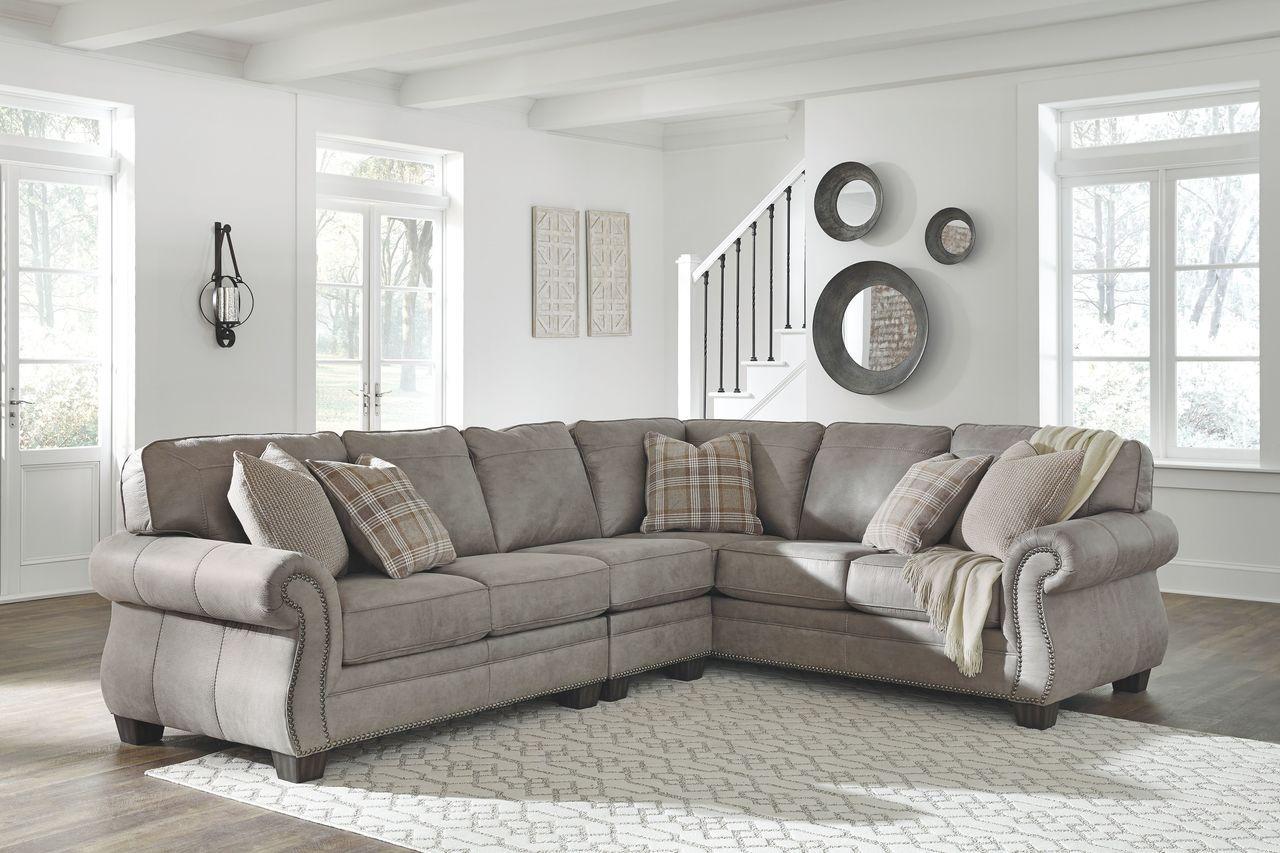 Olsberg Steel Raf Sofa With Corner Wedge Laf Loveseat Armless Chair Sectional Furniture Olsberg Sectional Sofa