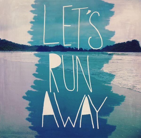 Let's Run Away XI Art Print
