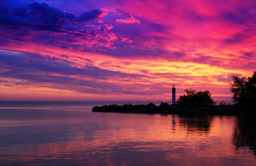 Grimsby Harbour Sunrise by SROPhoto on 500px