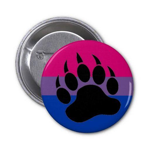 Bisexual Bear Pride Button | Zazzle.com | Bisexual | Bisexual pride ...