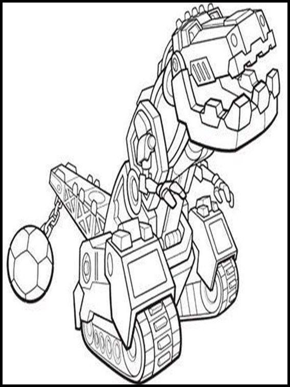 Disegni da colorare per bambini da stampare Dinotrux 5 | Disegni da ...