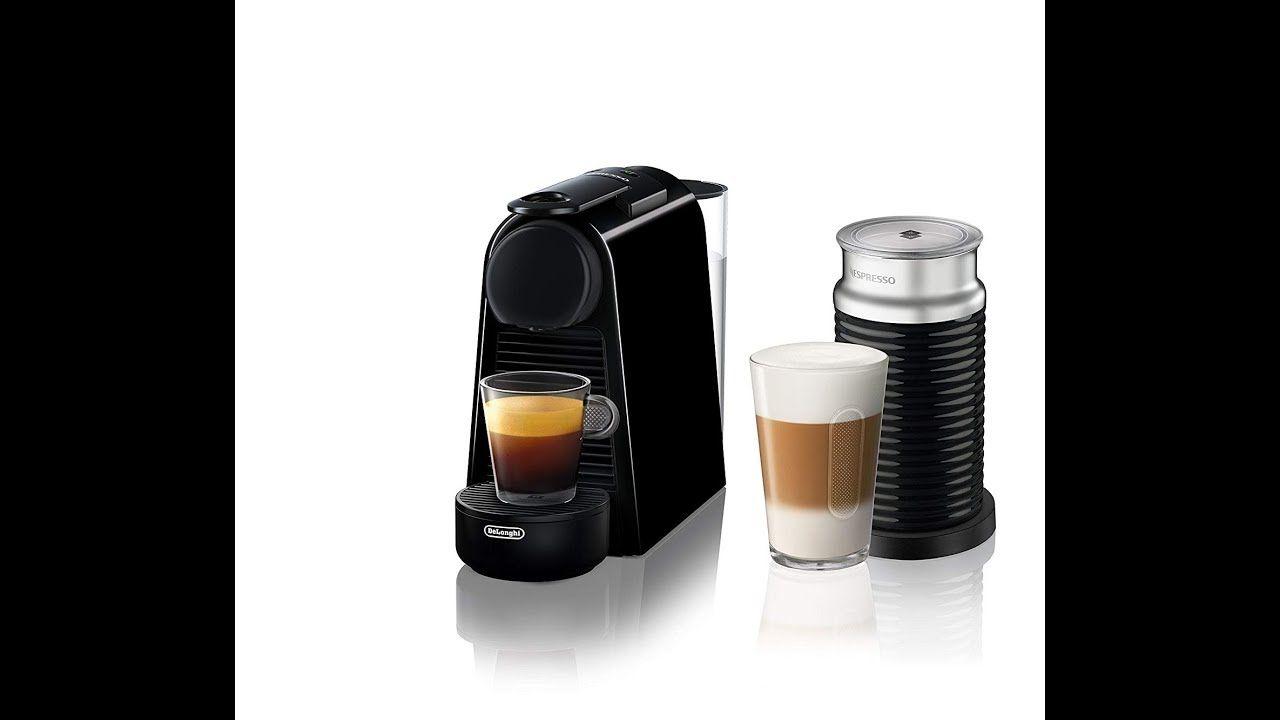 Nespresso Essenza Mini Espresso Machine By Delonghi Espresso Maker Reviews With Images Nespresso Essenza Automatic Espresso Machine Espresso Maker